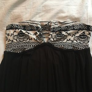 Rip Curl Strapless Maxi Dress